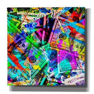 'Dirty Benjamins' Canvas Wall Art
