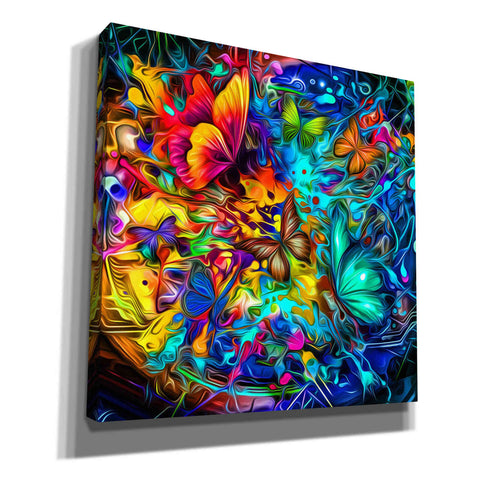Image of 'Melting Pot' Canvas Wall Art