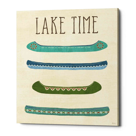 'Lake Retreat V' by Veronique Charron, Giclee Canvas Wall Art
