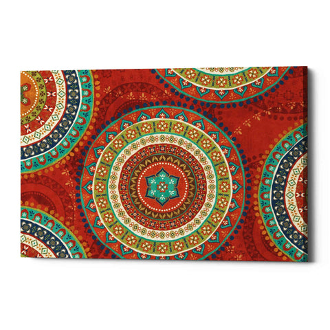 'Mexican Fiesta VII' by Veronique Charron, Giclee Canvas Wall Art