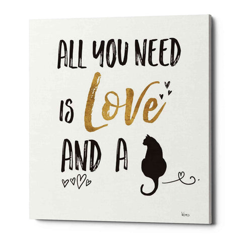 'Pet Love IV' by Veronique Charron, Giclee Canvas Wall Art
