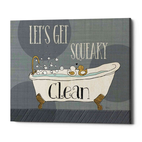 'Squeaky Clean I' by Veronique Charron, Giclee Canvas Wall Art