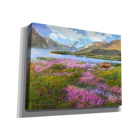 Image of 'Heather Scotland' by Chris Vest, Giclee Canvas Wall Art