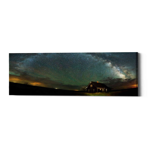 "Image of ""Abandoned On The Plains"" by Darren White, Giclee Canvas Wall Art"