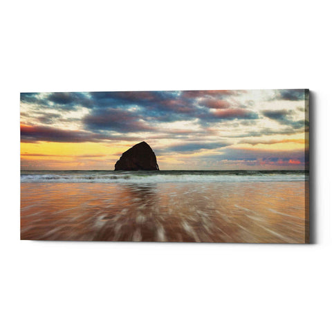 "Image of ""Cotton Candy Sunrise"" by Darren White, Giclee Canvas Wall Art"