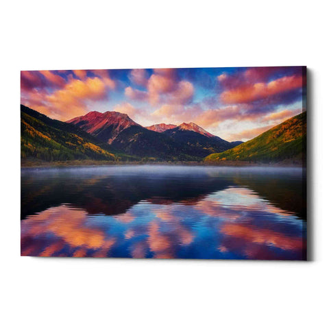 """Red Mountain Reflections"" by Darren White, Giclee Canvas Wall Art"
