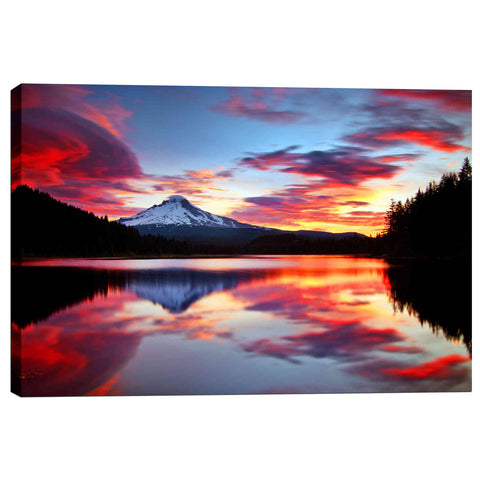 """Sunrise on the Lake"" by Darren White, Giclee Canvas Wall Art"