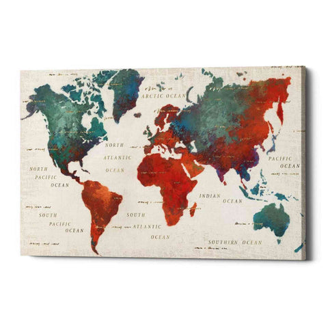 """Colorful World I"" by James Wiens, Giclee Canvas Wall Art"