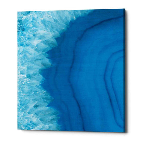 "Image of ""Agate Geode"" by Wild Apple Portfolio, Giclee Canvas Wall Art"