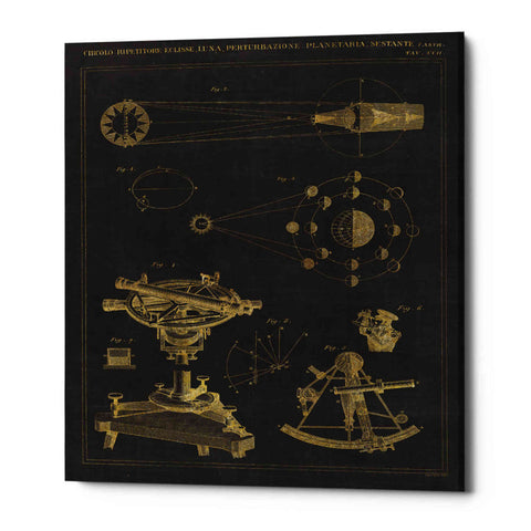 Image of 'Astronomical Chart II' by Wild Apple Portfolio, Giclee Canvas Wall Art