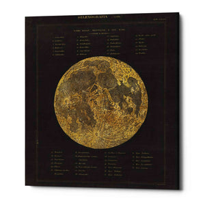 'Astronomical Chart I' by Wild Apple Portfolio, Giclee Canvas Wall Art