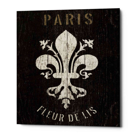 'Refurbished Fleur-de-lis' by Wild Apple Portfolio, Giclee Canvas Wall Art