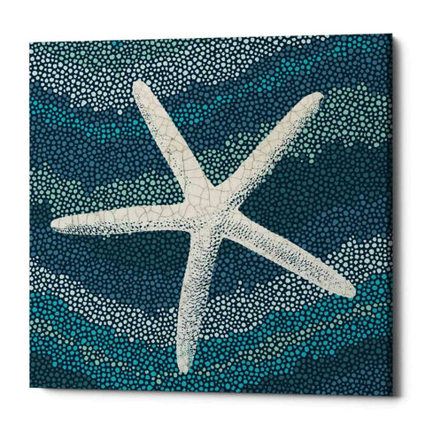 """Sea Glass IV"" by Wild Apple Portfolio, Giclee Canvas Wall Art"