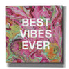 'Best Vibes Ever' by Linda Woods, Canvas Wall Art