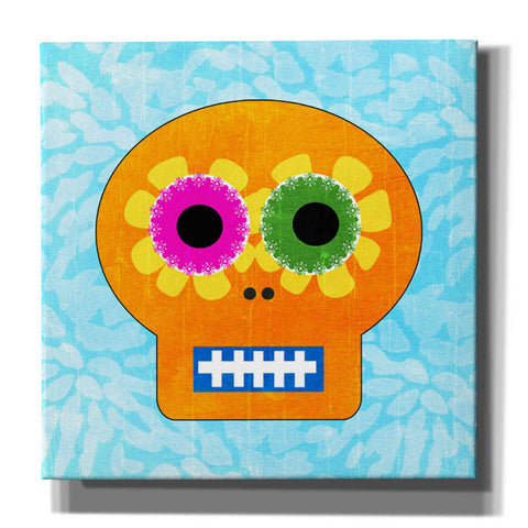 'Day Of The Dead IV' by Linda Woods, Canvas Wall Art