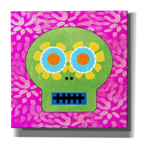 'Day Of The Dead I' by Linda Woods, Canvas Wall Art