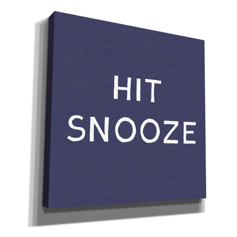 'Hit Snooze' by Linda Woods, Canvas Wall Art