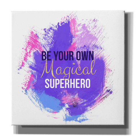 'Magical Super Hero I' by Linda Woods, Canvas Wall Art