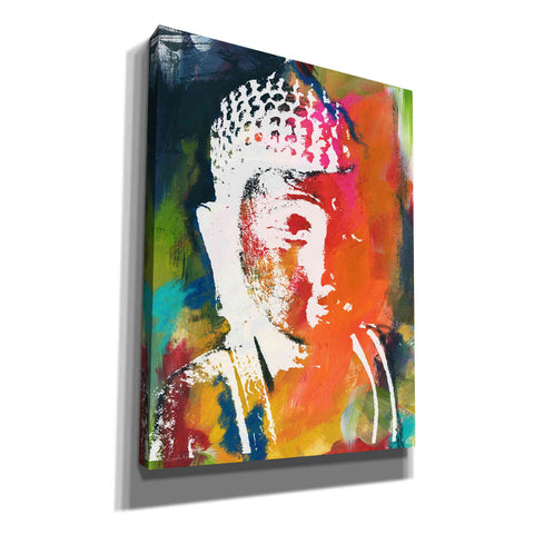 """Painted Buddha V"" by Linda Woods, Giclee Canvas Wall Art"