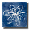 'Painted Sky Flower' by Linda Woods, Canvas Wall Art