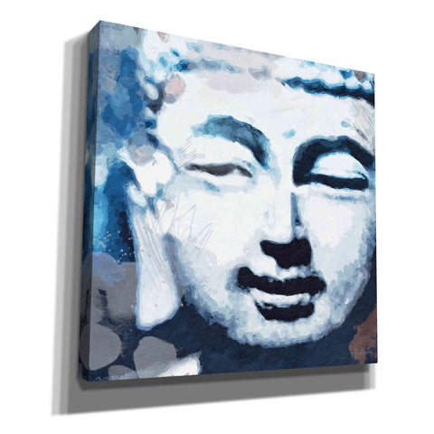 'Peaceful Buddha II' by Linda Woods, Canvas Wall Art