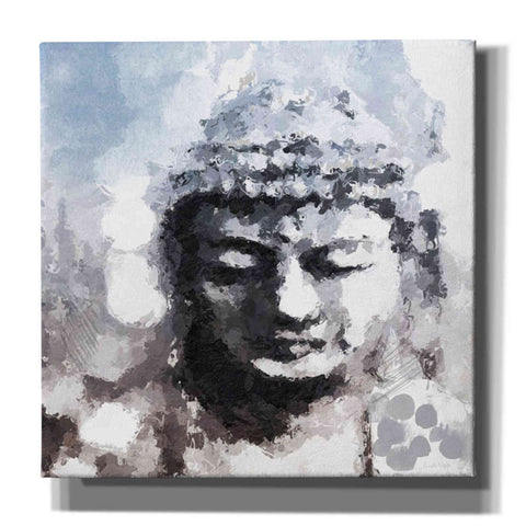 'Peaceful Buddha I' by Linda Woods, Canvas Wall Art