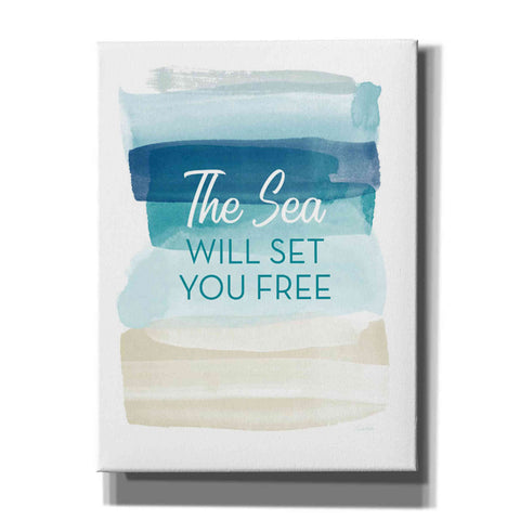 'Sea Will Set You Free' by Linda Woods, Canvas Wall Art
