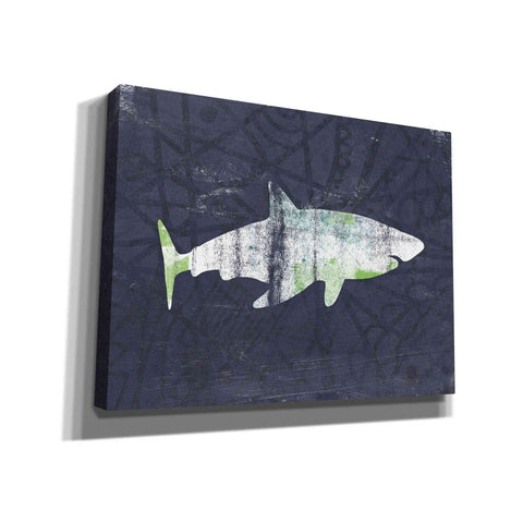 'Shark I' by Linda Woods, Giclee Canvas Wall Art