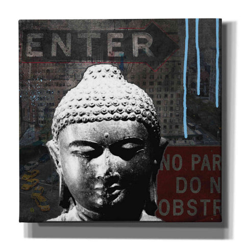 Image of 'Urban Buddha IV' by Linda Woods, Giclee Canvas Wall Art