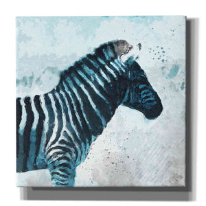 """Zebra"" by Linda Woods, Giclee Canvas Wall Art"