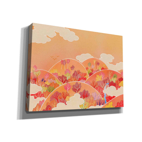 Image of 'Autumn Hill' by Zigen Tanabe, Giclee Canvas Wall Art