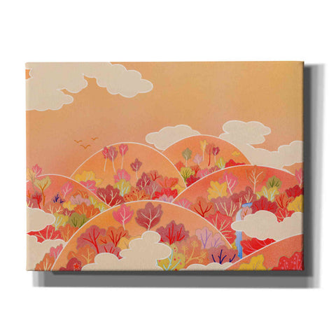 'Autumn Hill' by Zigen Tanabe, Giclee Canvas Wall Art
