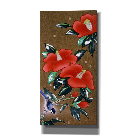 'Camellia L' by Zigen Tanabe, Giclee Canvas Wall Art