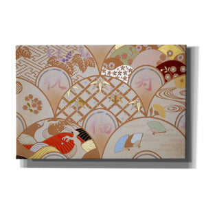 'Happy Design A' by Zigen Tanabe, Giclee Canvas Wall Art