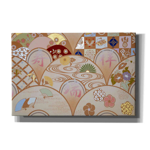 Image of 'Happy Design B' by Zigen Tanabe, Giclee Canvas Wall Art