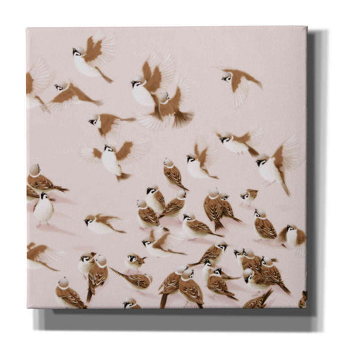 'Sparrow' by Zigen Tanabe, Giclee Canvas Wall Art