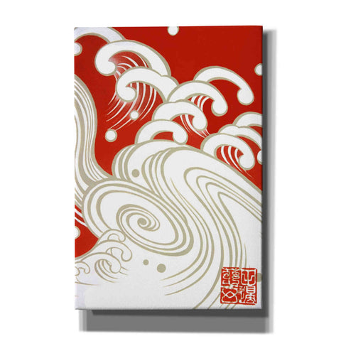 'Wave A' by Zigen Tanabe, Giclee Canvas Wall Art