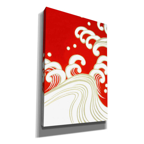 Image of 'Wave B' by Zigen Tanabe, Giclee Canvas Wall Art