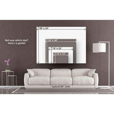 "Image of ""'Blueprint Westie' by Ethan Harper Canvas Wall Art,Size B Landscape"""