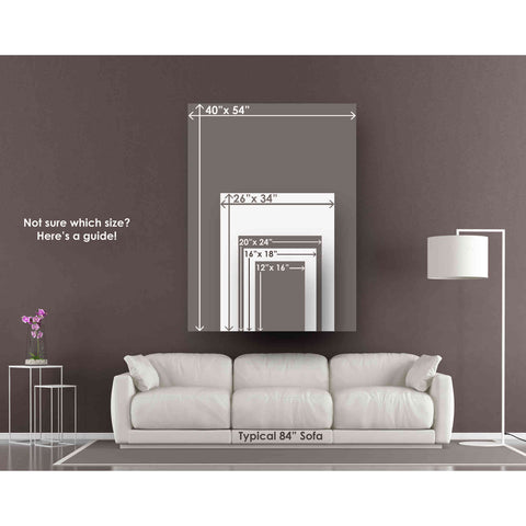 """'All About the Game I' by Ethan Harper Canvas Wall Art,Size C Portrait"""