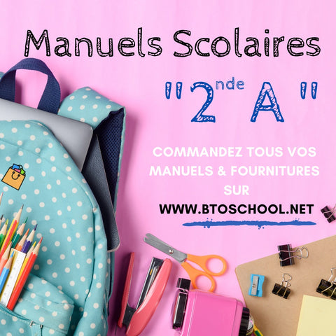 Manuels scolaires 2nde A