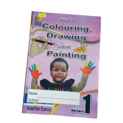 Colouring drawing and painting