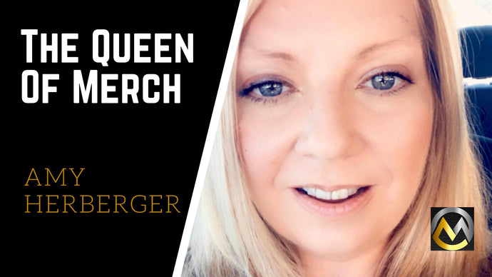 First Live Interview with Merch Girl Boss, Amy Herberger (AKA The Queen of Merch)