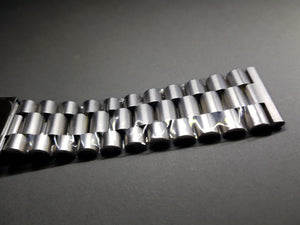 22mm Seiko flat straight lugs gents stainless steel watch Bracelet