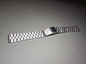 19mm seiko flat straight lugs gents stainless steel watch Bracelet