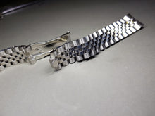 Load image into Gallery viewer, NEW JUBILEE 20MM LUG SILVER  BAND/BRACELET FIT ROLEX WATCHES CUVED END