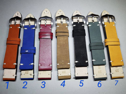 20mm - 22mm mm high quality genuine leather strap for luxury watches omega rolex tag heuer rolex king Seiko hamilton rado watches on sale