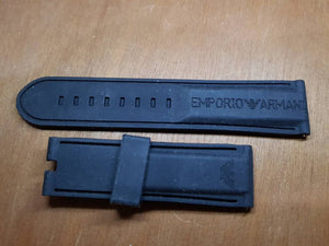 Emporio Armani rubber Silicon band watch Strap bracelet 23mm( FAST SHIPPING ) on sale