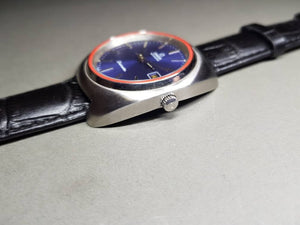 vintage 1970s omega seamaster blue dial gents automatic  watch omega watch  FAST SHIPPING on sale