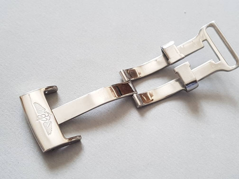 20mm breitling stainless steel deployment clasp on sale